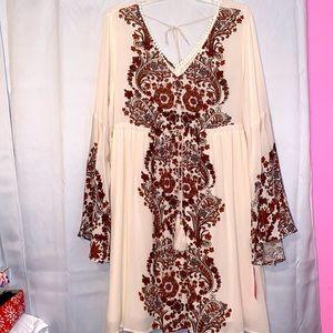 Boho Dress NWT